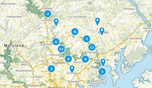 Gunpowder Falls State Park Map Best Trails in Gunpowder Falls State Park   Maryland | AllTrails