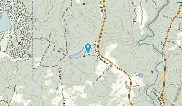 Herrington Manor State Park Map