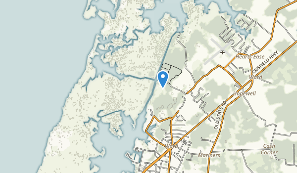 Janes Island State Park Map