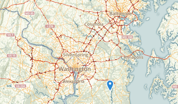 Patuxent River State Park Map