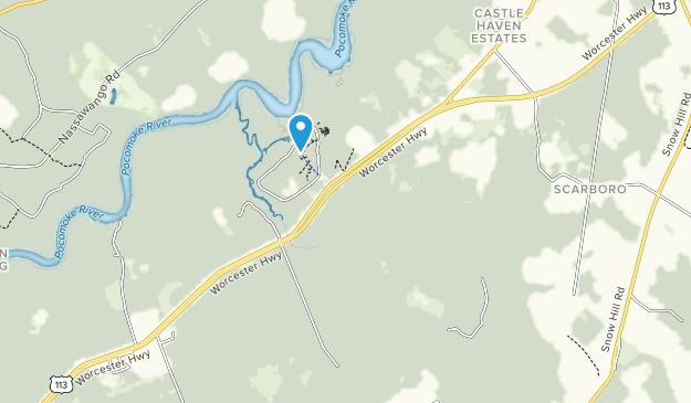 Pocomoke River State Park Map