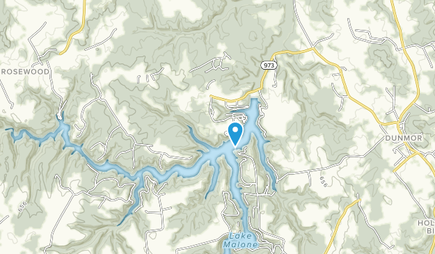 Lake Malone State Park Map