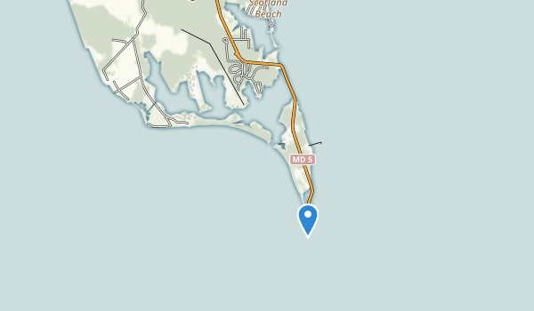 Point Lookout State Park Map