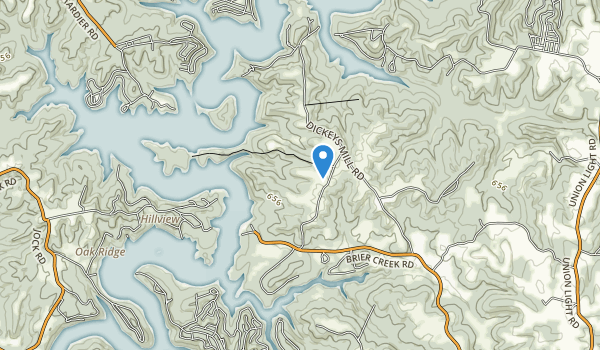 Nolin Lake State Park Map