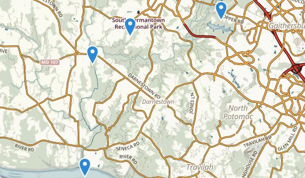 Seneca Creek State Park Map