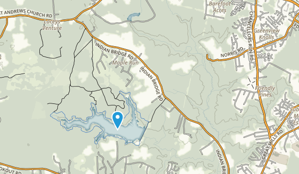 St. Mary's River State Park Map