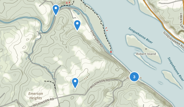 Susquehanna State Park Map