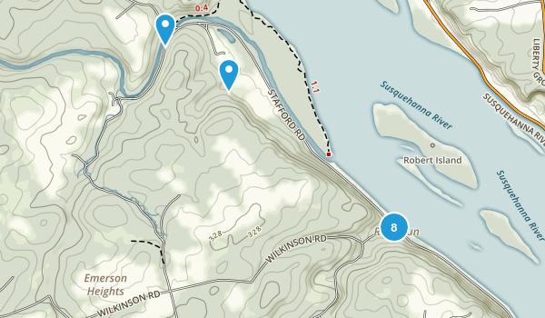 Susquehanna State Park Map