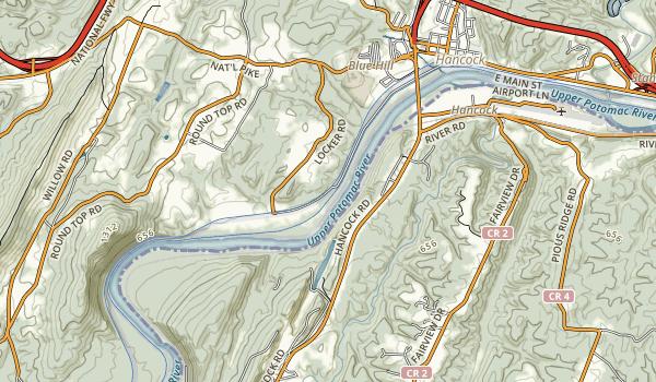 Western Maryland Rail Trail Map
