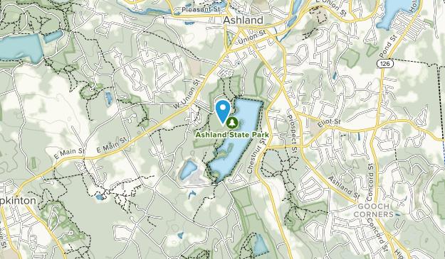 Ashland State Park Map