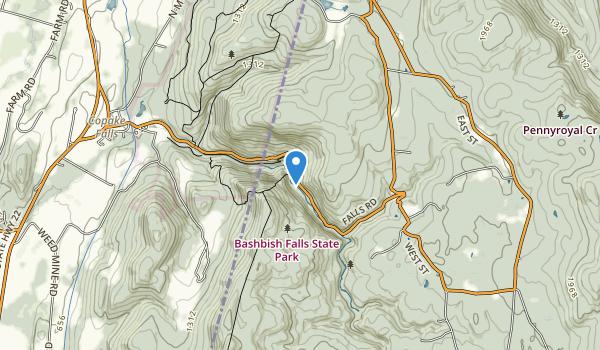 Bash Bish Falls State Park Map