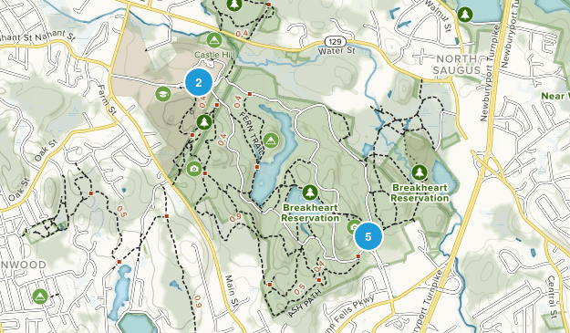 Breakheart Reservation Map