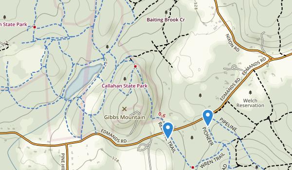 Callahan State Park Map