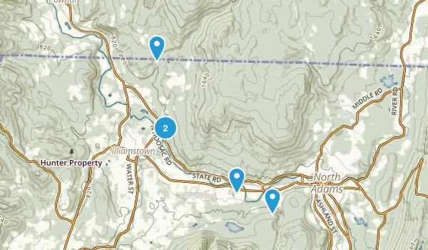 Clarksburg State Park Map