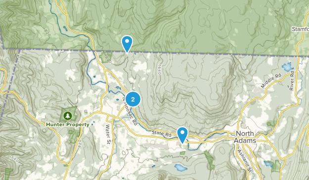 Parque Estatal Clarksburg Map