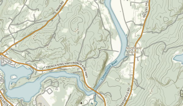 Connecticut River Greenway State Park Map
