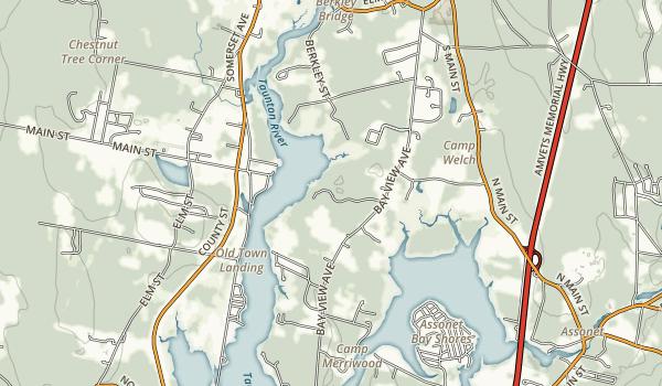 Dighton Rock State Park Map
