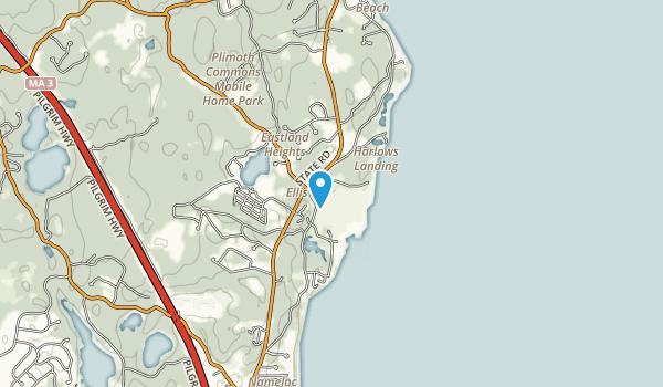 Ellisville Harbor State Park Map