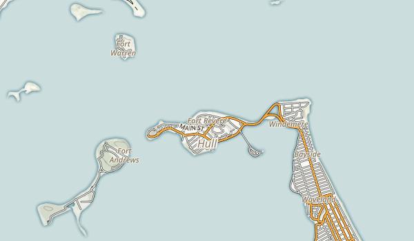 Fort Revere Map