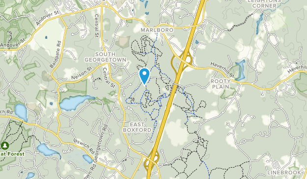 Georgetown-Rowley State Forest Map