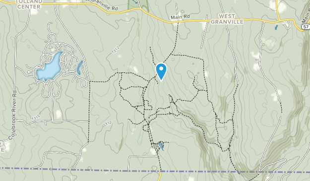 Granville State Forest Map