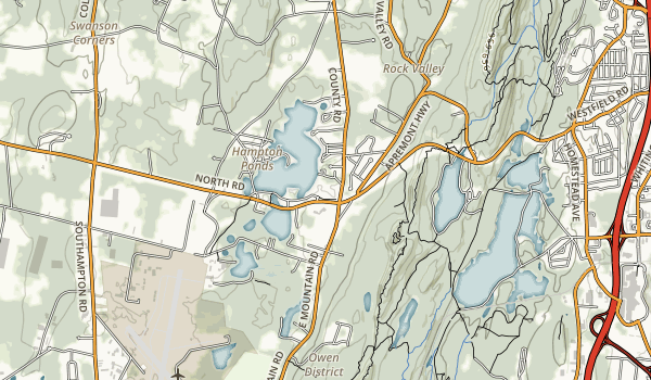 Hampton Ponds State Park Map