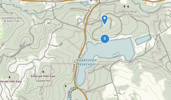 Hopkinton State Park Map