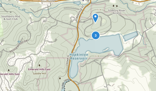 Hopkinton State Park Map