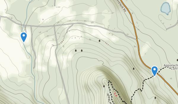 Jug End State Reservation & Wildlife Management Area Map