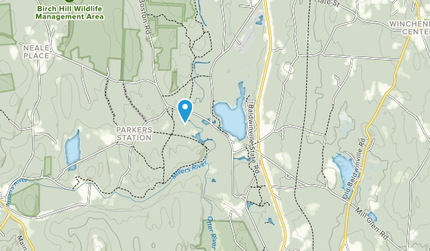 Lake Dennison Recreation Area Map