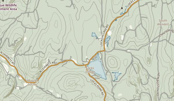 Lake Wyola State Park Map