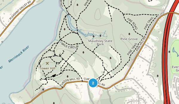 Maudslay State Park Map