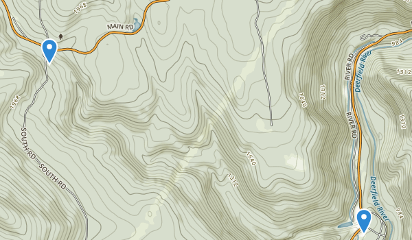 Monroe State Forest Map