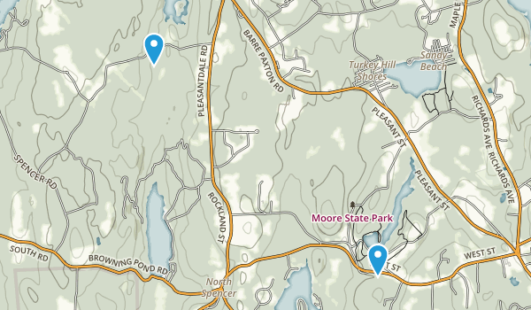 Moore State Park Map