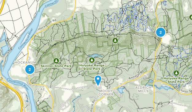 Parque Estatal Mount Holyoke Range Map