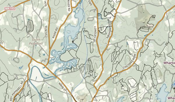 Nashua River Rail Trail Map