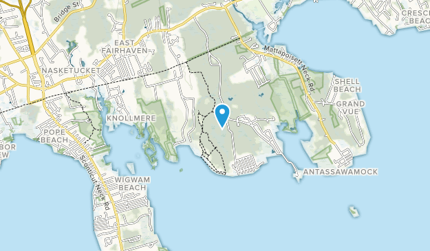 Nasketucket Bay State Reservation Map