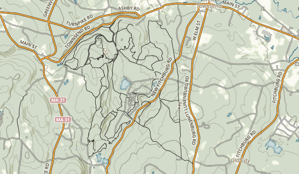 Pearl Hill State Park Map