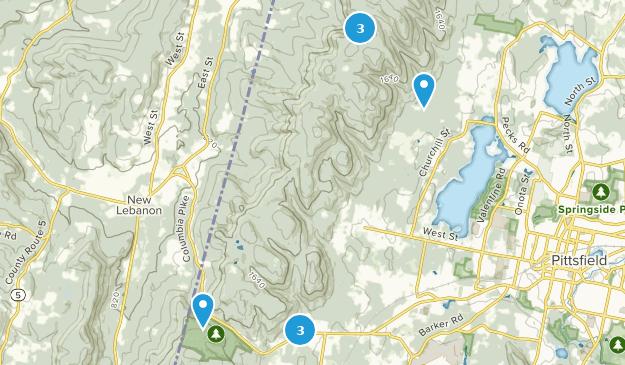 Bosque Estatal de Pittsfield Map