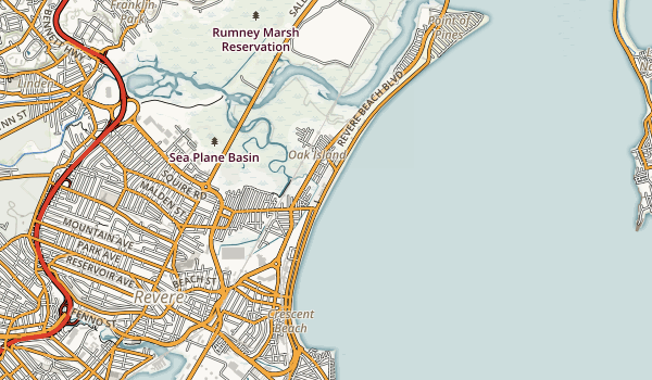 Revere Beach Reservation Map