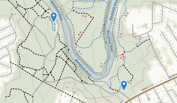 Robinson State Park Map