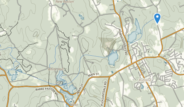 Rutland State Park Map
