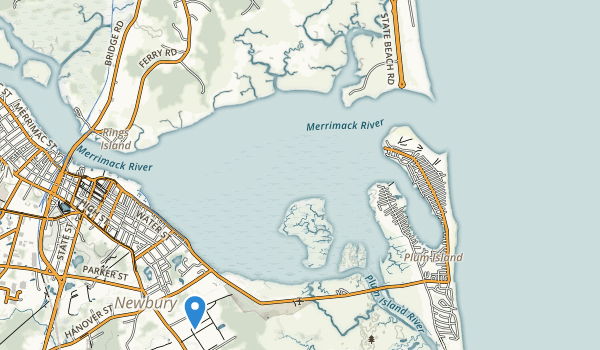 Salisbury Beach State Reservation Map