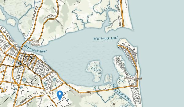 Salisbury Beach State Reservation Map