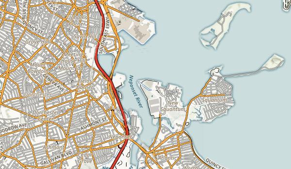 Squantum Point Park Map