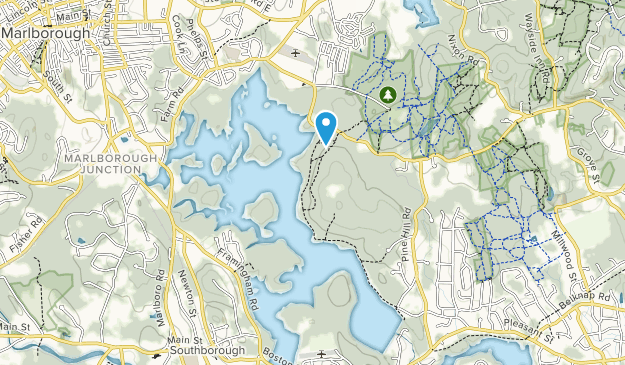 Embalse de Sudbury Map