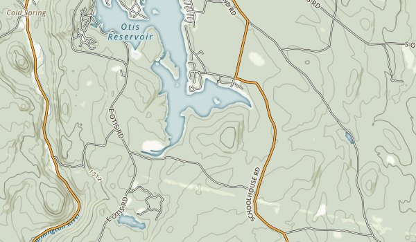 Tolland State Forest Map