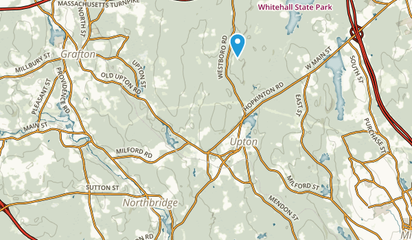 Upton State Forest Map