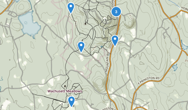 Wachusett Mountain State Reservation Map