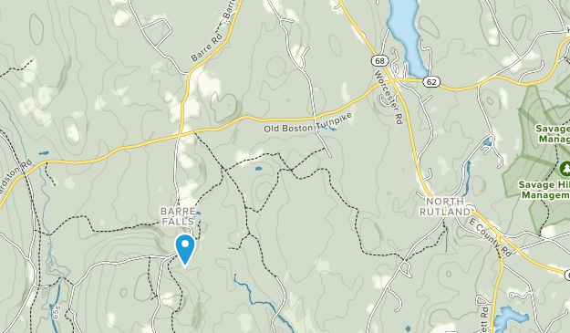 Ware River Watershed Map